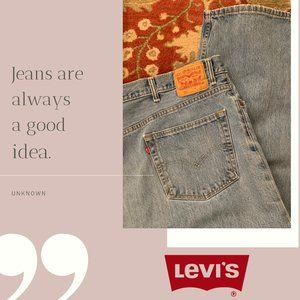Levi's 550 Big & Tall Mens' Relaxed Fit Jeans